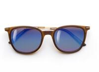 Фуллереновые очки Tesla Mirror Reflex 0102 коричневые