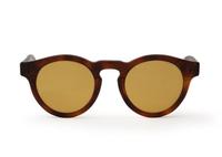 Фуллереновые очки, модель 001, коричневая оправа