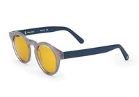 Фуллереновые очки, модель 001, голубая оправа