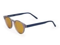 Фуллереновые очки, модель 107, голубая оправа