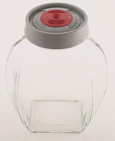 Стеклянная емкость 18x12x19 см - 2,2 л