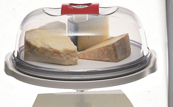 Сырница и емкость для тортов круглая малая, 19 см