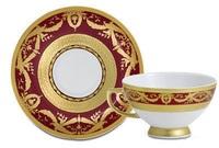 Империал Голд Бордо - дополнение к кофейному сервизу (12 пр.)