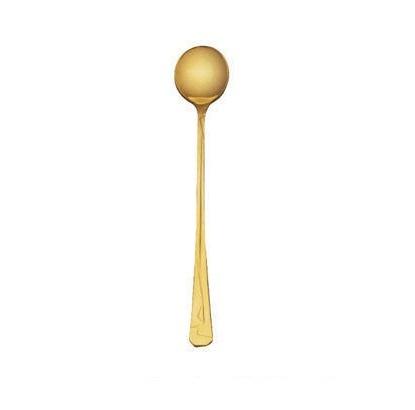 Кимоно - Набор ложек для коктейля на 6 персон позолоченный (6 пр.)