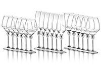 Магическая Гармония - бокалы для красного вина со стальными ножками, 6 шт.