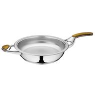 Сковорода с двумя ручками, без крышки (URA-технология) 3,8 л, 28 см