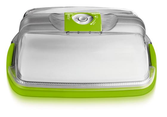 Сырница и емкость для тортов прямоугольная, 30х22х15 см, 5,2 л