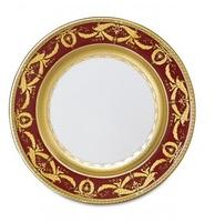 Империал Голд Бордо - тарелки-подставки, 32 см (6 пр.)