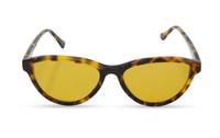 Фуллереновые очки Тесла, модель 02, коричневые