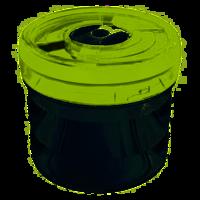 Емкость цилиндрическая малая пластиковая, d 13,5см, выс.12,5см - 1,1 л