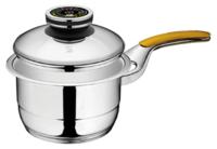 Ковш для соуса с одной ручкой, с крышкой 2 л, 16 см, высота 10 см