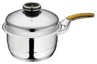Кастрюля для соуса с одной ручкой, с крышкой 3 л, 20 см, высота 9,7 см